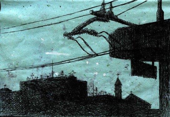 disegno di Salvo D'Agostino