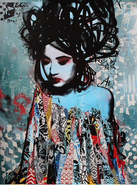 street art writer Hush Moments in soul